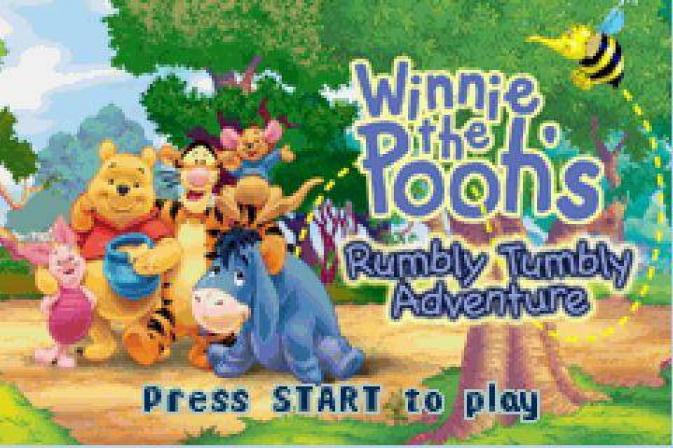 Sis игру для Symbian Винни Пух: Приключение урчащего животика (Winnie the P