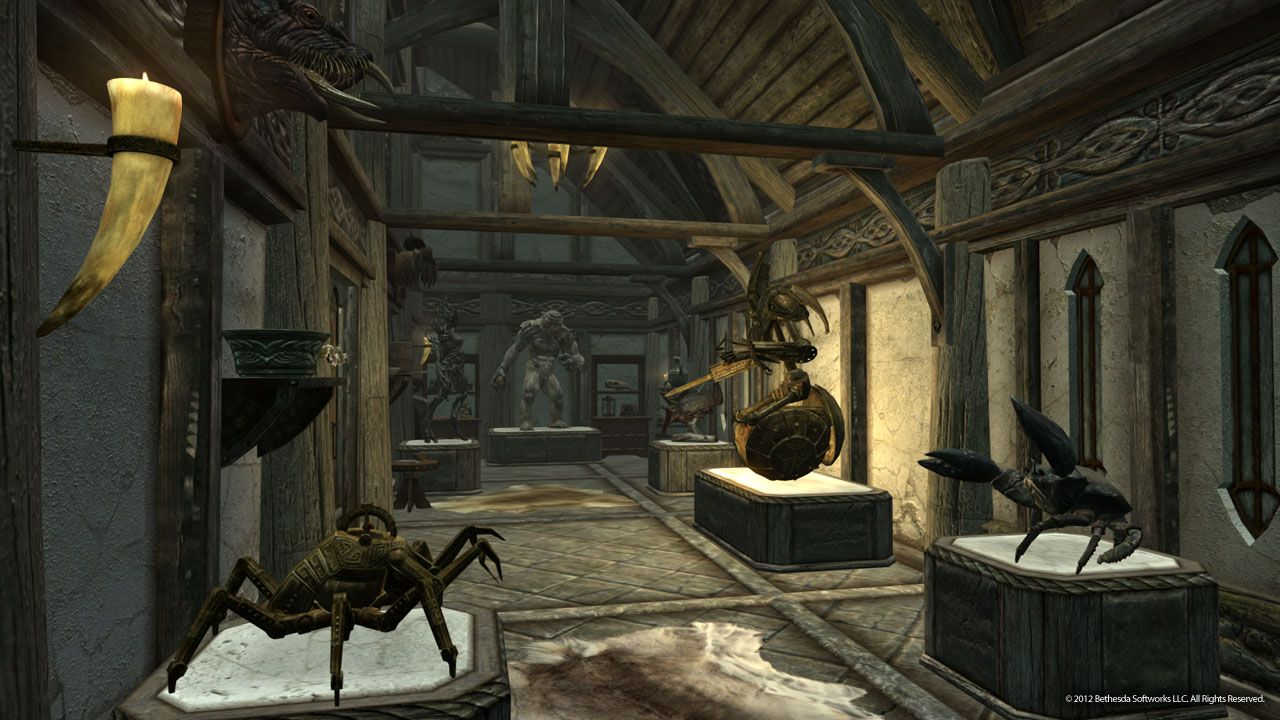 Skyrim Wall Sconces Not Working : ????? The Elder Scrolls 5: Skyrim Hearthfire - ??????? ??????